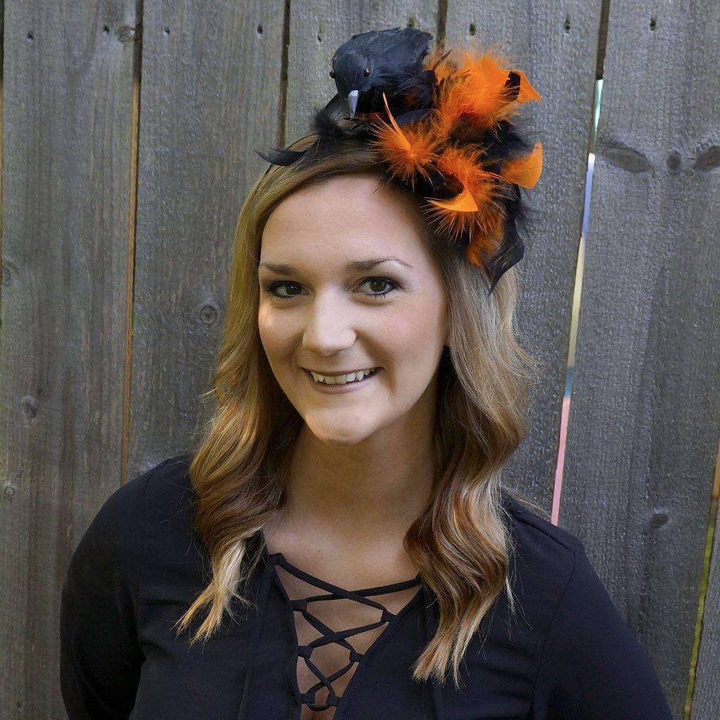 Halloween Crow Headband